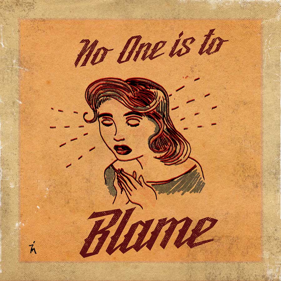 illustration titled: No One is To Blame.
