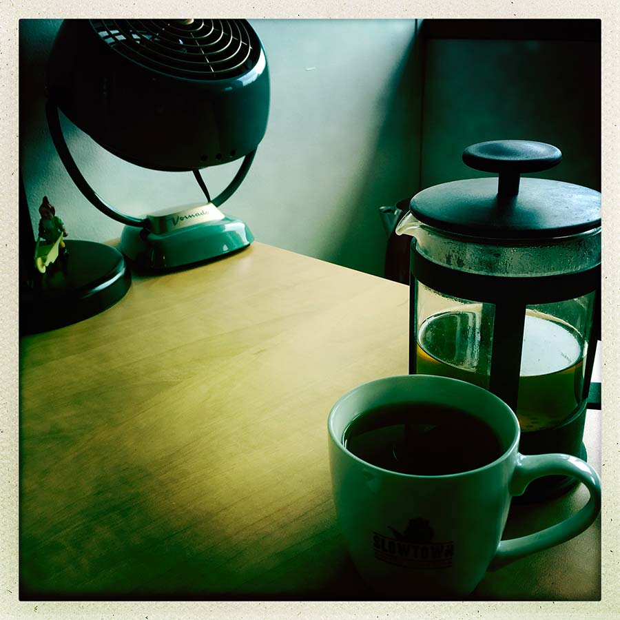 photo of coffee and a coffee press. Vancouver British Columbia, Canada